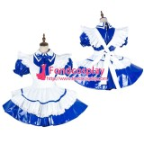French Lockable Sissy Maid Pvc Dress Vinyl Uniform Cosplay Costume Tailor-Made[G1991]
