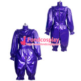 French lockable PVC jumpsuits adult sissy baby Unisex cosplay costume Tailor-made[G3911]