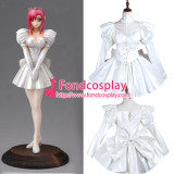 French Sissy Maid Pvc Dress Lockable Uniform Cosplay Costume Tailor-Made[G3738]
