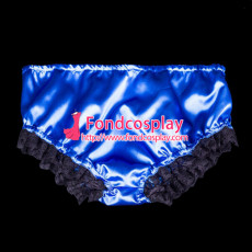 French Sissy Maid Satin Panties Cosplay Costume Tailor-Made[G2062]