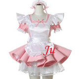 French Sexy Sissy Maid Dress Uniform Cosplay Costume Tailor-Made[CK903]