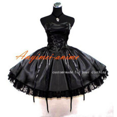 French Sissy Maid Gothic Lolita Punk Ball Gown Dress Cosplay Costume Tailor-Made[G397]