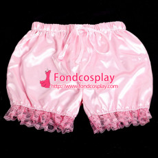 French Sissy Maid Satin Bloomers Cosplay Costume Tailor-Made[G2057]