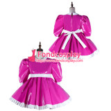 French Sissy Maid Pvc Dress Lockable Uniform Cosplay Costume Tailor-Made[G2160]