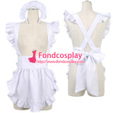 French Sissy Maid Cotton Apron Cosplay Costume Tailor-Made[G2188]
