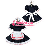 French Sissy Maid Cotton Dress Lockable Uniform Cosplay Costume Tailor-Made[G2154]
