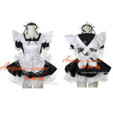 French Sexy Sissy Maid Dress Uniform Cosplay Costume Tailor-Made[CK902]