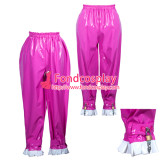 French Sissy Maid Pvc Pants Lockable Uniform Cosplay Costume Tailor-Made[G3775]