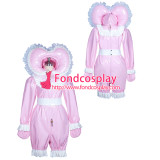 French lockable heavy PVC jumpsuits adult sissy baby Unisex costume Tailor-made[G3910]