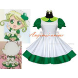 French Shugo Chara Su Amulet Clover Sissy Maid Dress Cosplay Costume Tailor-Made[G534]