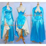 Sexy O Dress The Story Of O With Bra Satin Dress Cosplay Costume Custom-Made[G603]
