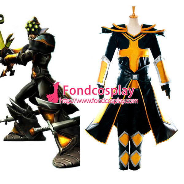 Lol Master Yi Outfit Game Cosplay Costume Tailor-Made[G989]
