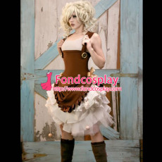 Gothic Lolita Steam Punk Dress Cosplay Costume Tailor-Made[G901]