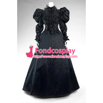 Victorian Rococo Medieval Gown Ball Dress Gothic Evening Outfit Cosplay Costume Tailor-Made[G899]