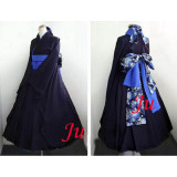 Japan Kimono Gothic Lolita Punk Fashion Dress Cosplay Costume Tailor-Made[CK812]