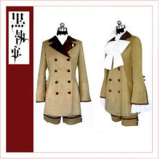 Black Butler Kuroshitsuji Ciel Phantomhive Season 2 Earl Alois Trancy Cosplay Costume Tailor-Made[CK1354]