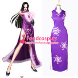 One Piece Boa Hankokku Dress Cheong-Sam Cosplay Costume Tailor-Made[G834]