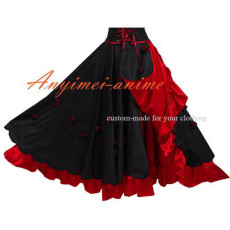 O Skirt The Story Of O Tafetta Satin Dress Cosplay Costume Tailor-Made[G424]