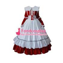 Lockable Pvc Maid Dress Maid Vinyl Uniform Tailor-Made[G1634]