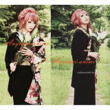 Gothic Versailles-Hizaki Cosplay Costume Visual Rock Japan Kimono Custom-Made[CK1269]