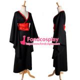 Gtothic Lolita Punk Sd Doll Kimono Costume Cosplay Tailor-Made[G1114]