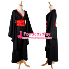 Gtothic Lolita Punk Sd Doll Kimono Costume Cosplay Tailor-Made[G1114]