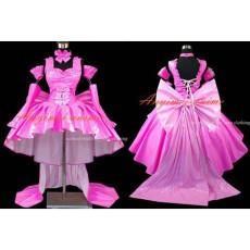 Chobits-Freya Chobits Dark Chii Pvc Dress Cosplay Costume Tailor-Made[G499]
