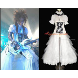 Visual J-Rock Outfit Dress Gothic Punk Outfit Dress Cosplay Costume Tailor-Made[G351]