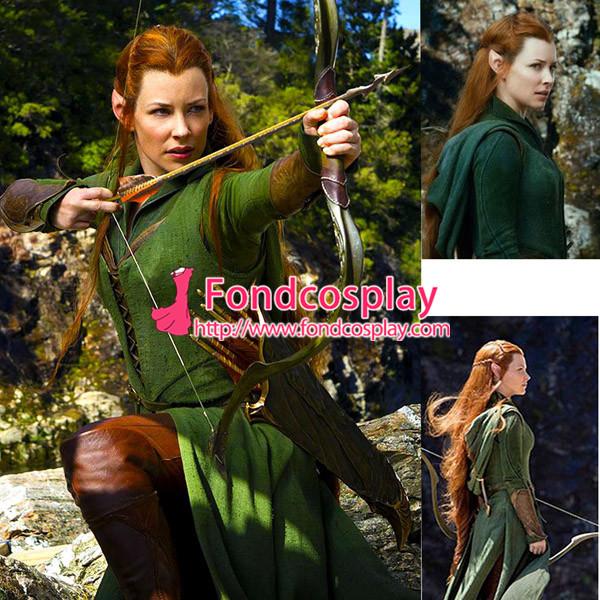 US$ 167.9 - The Hobbit-Desolation Of Smaug-Tauriel Costume ...