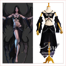 Sexy Shaiya Dark Goddess Game Cosplay Costume Tailor-Made[G707]