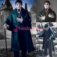 Johnny Depp-Dark Shadows-cloak/mantle Movie Costume Tailor-made[G3816]