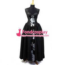 O Dress The Story Of O With Bra Tafetta Dress Cosplay Costume Tailor-Made[G826]