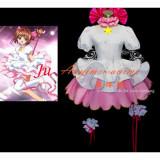 Japan Anime Cardcaptor Sakura Kinomoto Sakura Dress Cosplay Costume Tailor-Made[CK045]