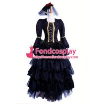 Versailles Hizaki Visual J Rock Outfit Dress Cosplay Costume Tailor-Made[CK985]