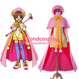 Cardcaptor Sakura Kinomoto Sakura Outfit Dress Cosplay Costume Tailor-Made[G923]