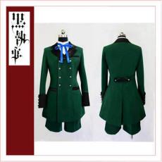 Black Butler Kuroshitsuji Ciel Phantomhive Season 2 Earl Alois Trancy Cosplay Costume Tailor-Made[CK1355]