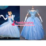 Princess Cinderella Dress Movie Cosplay Costume Custom-Made[G822]