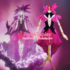 Guilty Crown Inori Yuzuriha Outfit Dress Cosplay Costume Custom-Made[G737]