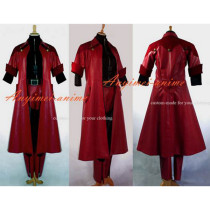 Devil May Cry Dmc Dante Suit Jacket Coat Game Cosplay Costume Custom-Made[G637]