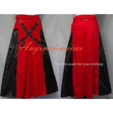 Gothic Lolita Punk Woman Skirt Dress Cosplay Costume Custom-Made[G548]