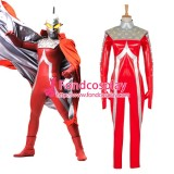 Uitraman Uitra Seven Outfit Faux Leather Cosplay Costume Tailor-Made[G1327]