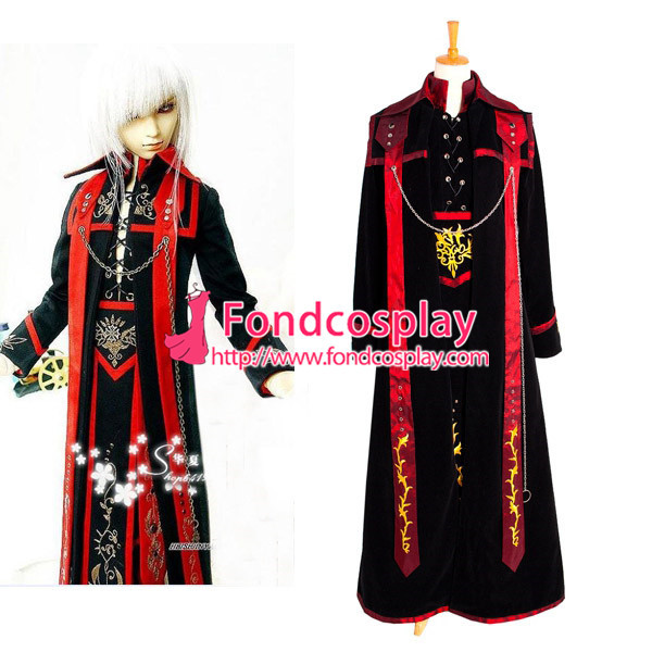 Sd Doll Gothic Punk Outfit Cosplay Costume Tailor-Made[G1039]