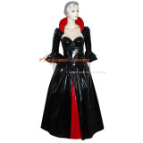 O Dress The Story Of O With Bra Black Pvc Dress Cosplay Costume Tailor-Made[G374]