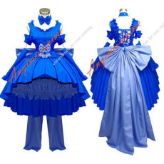Chobits-Freya Chobits Dark Chii Dress Cosplay Costume Tailor-Made[G549]