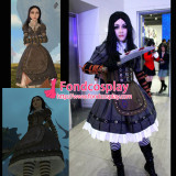 Alice Madness Returns Alice Maid Dress Game Cosplay Costume Tailor-Made[G999]