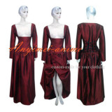 O Dress The Story Of O Red Taffeta Dress Cosplay Costume Tailor-Made[G261]