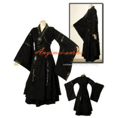 Gothic Lolita Punk Fashion Dress Japan Kimono Cosplay Costume Tailor-Made[CK1050]
