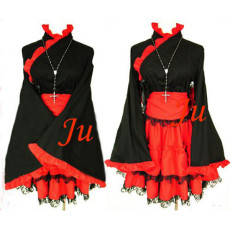 Gothic Lolita Punk Fashion Dress Japan Kimono Cosplay Costume Tailor-Made[CK776]