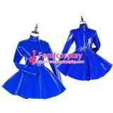 Lockable Gothic Punk Lolita Pvc Dress Uniform Cosplay Costume Tailor-Made[G1754]