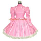 Gothic Lolita Punk Pink Pvc Dress Tailor-Made[G270]
